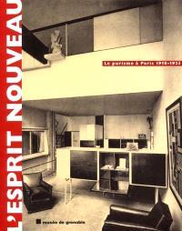 L'esprit nouveau : le purisme à Paris, 1918-1925 : exposition, Musée de Grenoble, 7 oct. 2001-6 janv. 2002