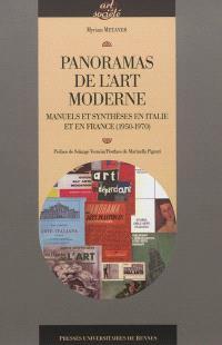 Panoramas de l'art moderne : manuels et synthèses en Italie et en France, 1950-1970
