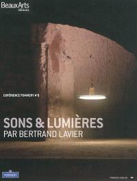Sons & lumières par Bertrand Lavier : expérience Pommery 6
