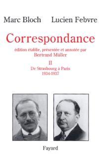 Correspondance. Volume 2, 1934-1937