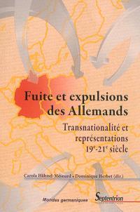 Fuite et expulsions des Allemands : transnationalité et représentations, 19e-21e siècle