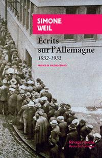 Ecrits sur l'Allemagne : 1932-1933
