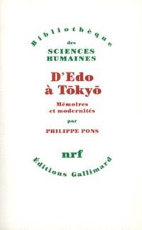 D'Edo à Tokyo : mémoires et modernités