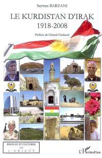 Le Kurdistan d'Irak : 1918-2008