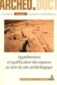 Appréhension et qualification des espaces au sein du site archéologique : actes de la 8e Journée doctorale d'archéologie, Paris, 22 mai 2013