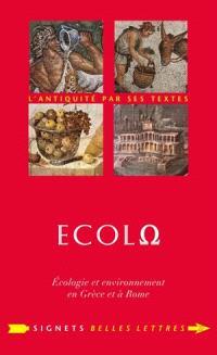 Ecolo : écologie et environnement en Grèce et à Rome