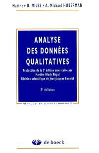 Analyse des données qualitatives