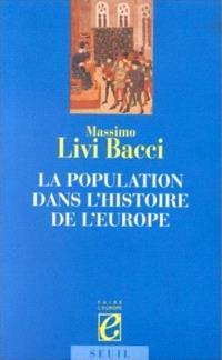 La population dans l'histoire de l'Europe