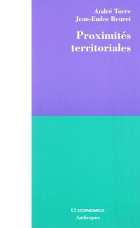 Proximités territoriales : construire la gouvernance des territoires, entre conventions, conflits et concertations