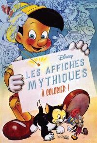 Les affiches mythiques à colorier