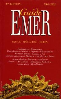 Guide Emer : 2001-2002