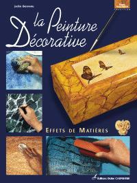 La peinture décorative : effets de matières