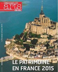 Le patrimoine en France 2015