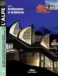 Alpe (L'). n° 58, Architectures et architectes