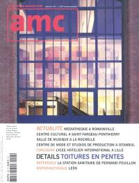 AMC, le moniteur architecture. n° 208