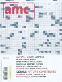 AMC, le moniteur architecture. n° 205