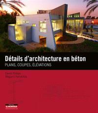 Détails d'architecture en béton