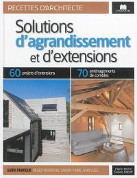 Solutions d'agrandissements et d'extensions