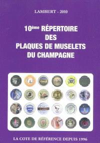10e répertoire des plaques de muselets du champagne