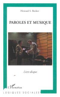 Paroles et musique : livre-disque