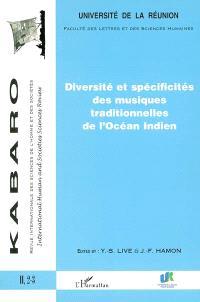 Kabaro. n° 2-3, Diversité et spécificités des musiques traditionnelles de l'océan Indien