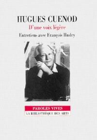 Hugues Cuenod : d'une voix légère