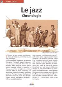 Le jazz : chronologie