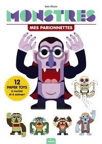 Monstres : mes parionnettes