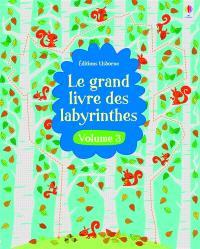 Le grand livre des labyrinthes. Volume 3