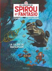 Les aventures de Spirou et Fantasio. Volume 55, La colère du Marsupilami
