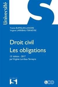 Droit civil : les obligations : 2017