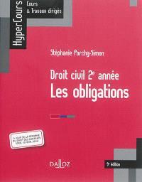 Les obligations : droit civil, 2e année