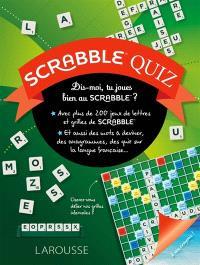 Scrabble quiz : dis-moi, tu joues bien au Scrabble ?