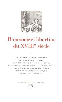 Romanciers libertins du XVIIIe siècle. Volume 2