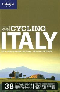Cycling Italy : GPS coordinates, 95 days, 6213.3 km of rides