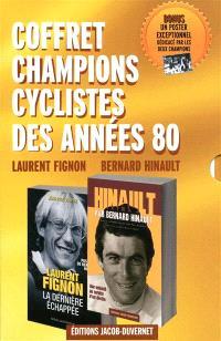 Coffret champions cyclistes des années 80