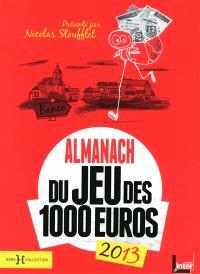 Almanach 2013 du jeu des 1.000 euros
