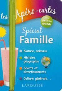 Les apéro-cartes spécial famille : pour petits et grands
