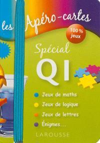 Les apéro-cartes spécial QI