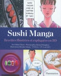 Sushi Manga : recettes illustrées et expliquées en BD