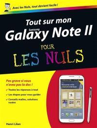 Tout sur mon Samsung Galaxy Note II pour les nuls