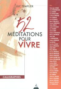 52 méditations pour vivre