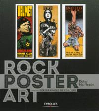 Rock poster art : sérigraphies de concerts