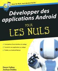 Développer des applications Android pour les nuls