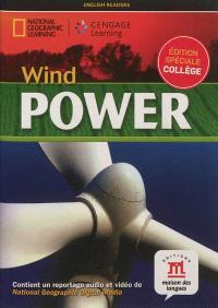 Wind power : édition spéciale collège