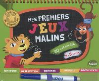 Mes premiers jeux malins, 4-5 ans : 80 activités