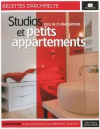 Studios et petits appartements : plus de 25 réalisations