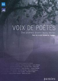 Voix de poètes : des poètes disent leurs textes