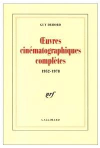Oeuvres cinématographiques complètes : 1952-1978