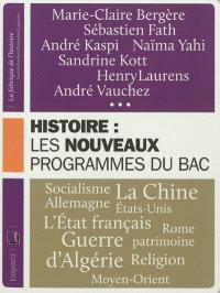 Histoire : les nouveaux programmes du bac